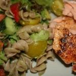 Lohta ja salaattia